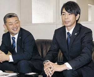 一人でも多くNPBへ ミリスタ武田VP、本社で決意