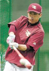 楽天 チーム最年長41歳の松井稼