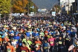 陸上 11月12日におかやまマラソン