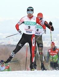 渡部暁が今季最高の2位 スキー複合W杯札幌大会