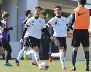 格上にもスピード通用 J2岐阜、J1広島と練習試合
