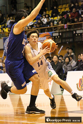 青森3連敗、名古屋に75-85 バスケBリーグ2部