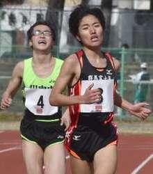 ジュニアロードレース 中学男子2・3年、伊井修司初優勝