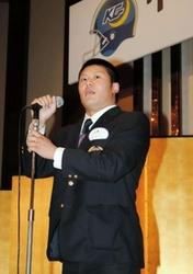 関学大がアメフット学生日本一祝賀会 大阪市
