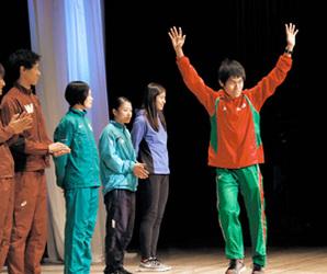 12日、愛媛マラソン 松山で開会式