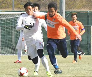 J3長野、和歌山キャンプで練習試合 守備テーマ