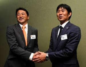 Jリーグ開幕前会見 J1広島、青山ら王座への決意