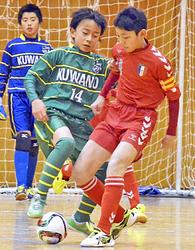 小学生の部、一般の部「4強」決定 福島県フットサル選手権