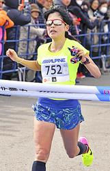 女子は永田初出場V、難コース攻略 いわきサンシャインマラソン