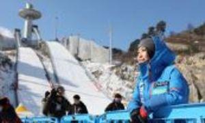 スキー ジャンプの高梨、W杯最多勝に挑む 15日から平昌2連戦