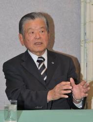 サッカー 日本協会最高顧問の川淵氏インタビュー