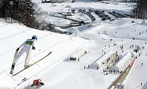 スキー 国体 永峯が優勝 ジャンプ成年男子A
