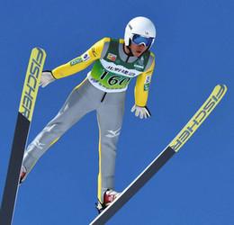 スキージャンプ 国体成年男子A、永峯が優勝