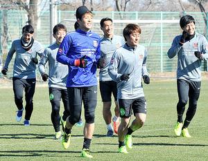 J1浦和 今季初戦へ調整 18日ゼロックス杯の鹿島戦