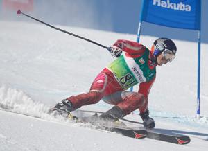 [冬季国体]男子スキー大回転 高橋(愛媛)74位