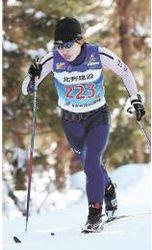 スキー距離 国体成年女子A5キロクラシカル 土屋優勝