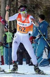 スキー複合 国体少年男子 小林朔太郎が5位