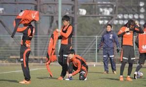 京都サンガ、GPSで選手把握 運動量数値化、体調も管理