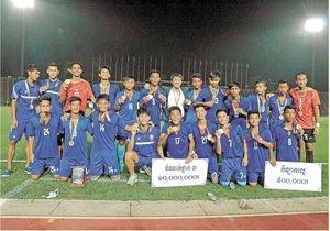 サッカー カンボジア育蹴記 厳しい環境でも好成績