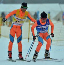 距離リレー、群馬少年男子7位 ながのスキー国体