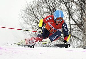 大回転少年男子は猪苗代高・長谷部が13位 スキー国体