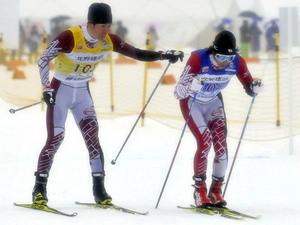 岐阜準V 国体スキー成年男子40キロリレー