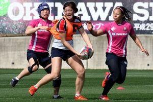 女子日本、世界に挑む 7人制ラグビー18日読谷で開幕