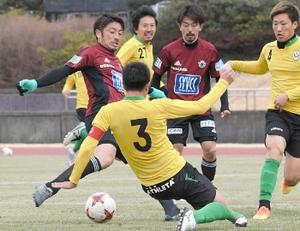 J2松本、開幕へ及第点 東京Vと練習試合