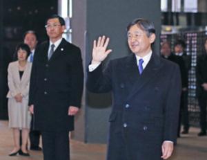 皇太子さま 冬季アジア大会関係者と懇談