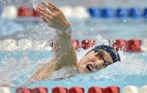 松永大会新V、13~14歳女子50自 静岡県短水路水泳