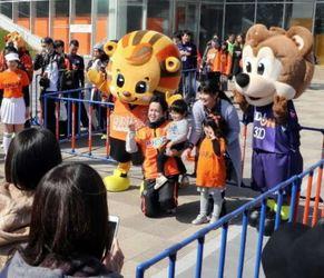J2山口・レノ丸が「Jリーグマスコット総選挙」3位の快挙