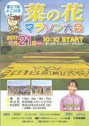 「菜の花マラソン」5月21日号砲 横浜町