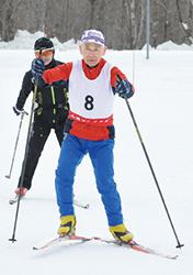 スキー クロスカントリー85キロ 洞爺湖の長崎さん傘寿の挑戦