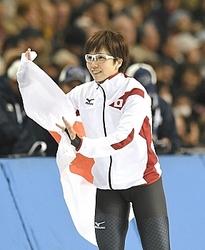 札幌冬季アジア大会 スピードスケート、小平2冠