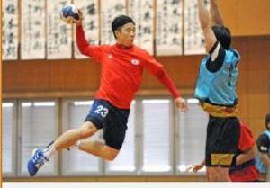 ハンドボール トヨタ紡織に韓国代表CBキム・ドンチョル