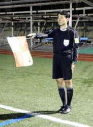 国際サッカー審判に松江市職員
