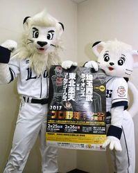 2/25、26に西武―楽天プレシーズンマッチ 高知市の春野球場