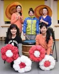 東京マラソンを八木節で応援 女性チーム「桐雅会」