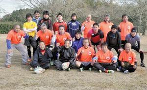 香川県内唯一のタッチラグビーチーム、徳島リーグ参戦
