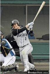 阪神・北條いきなり2アーチ プロ野球オープン戦スタート