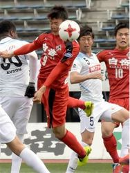 J2熊本 開幕戦勝利 讃岐に2-1