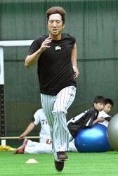 阪神 藤川球児投手 春季キャンプ450球投げ込み