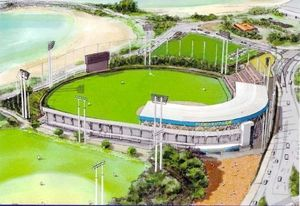 日本ハム 20年キャンプから使用 名護市の新球場、命名権公募へ