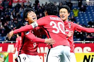 J1浦和 2連勝、ソウルに5-2 ACL1次リーグ