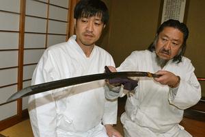 大相撲 関の太刀 稀勢の里の土俵入りで使用