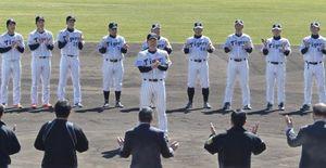 阪神2軍 高知キャンプ打ち上げ 掛布監督「いい1カ月」