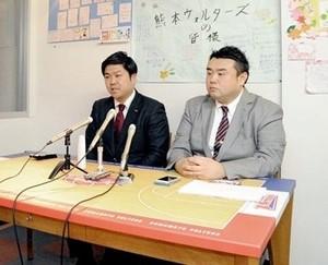 バスケBリーグ 熊本、B1ライセンス獲得 財務改善を評価