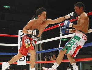 ボクシング 山中、7回TKOで12度目防衛