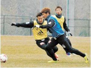 J1仙台 金久保、練習復帰 復調の兆し