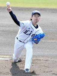 埼玉西武・本田好投4回無失点 練習試合でハンファに9―2